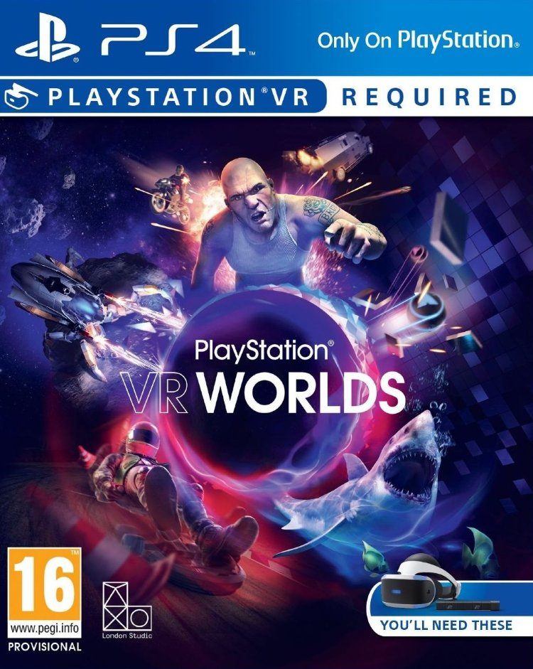 Playstation VR Worlds игра VR